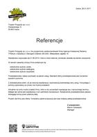 Referencja od firmy Tropem Przygody sp. z o.o.