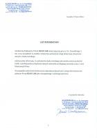 Referencja od firmy ACADEMIAN Sp. z o.o. Sp. K.
