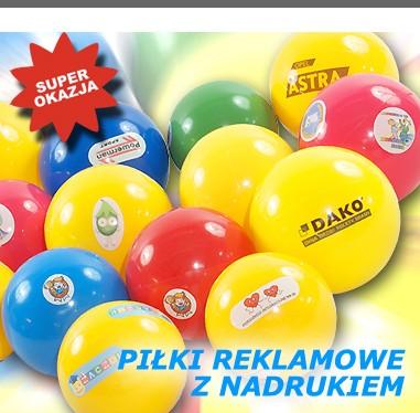 d5179c09b Kolorowe piłki reklamowe z logo lub nadrukiem reklamowym - Powerman Sport  Janusz Rusinek Bielany Wrocławskie