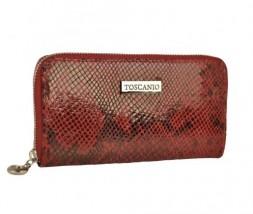 Portfel z włoskiej skóry lakierowanej - Toscanio - Rbs - torebki, obuwie, portfele, teczki Wadowice