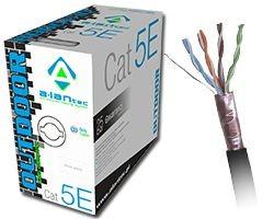 Kabel zewnętrzny suchy kat.5e FTP 305m - UNOTEL Krystian Klimczak Darłowo