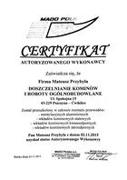 Referencja od firmy Mado Polska