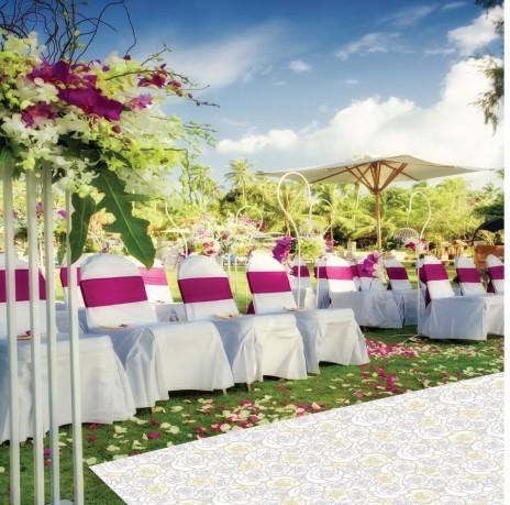 Czerwony dywan na ślub