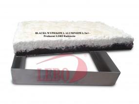 blacha wypiekowa aluminiowa - P.P.H.U. LEBO  producent sprzętu piekarniczego Radziszów