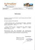 Referencja od firmy Transkop S.C.