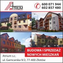 budowa lokali i garaży zarządzanie nimi - ATRIUM s.c. Stanisław Wojtuń Eligiusz Sawicki Złotów