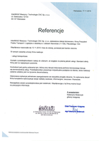 Referencja od firmy InterMASZ Maszyny i Technologie CNC Sp. z o.o