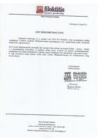 Referencja od firmy Biuro Podróży Filoktitis