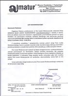 Referencja od firmy Biuro podróży Almatur Częstochowa