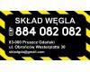 """""""Składzik"""" Pruszcz Gdański Skład Węgla"""