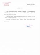 Referencja od firmy Gminna Biblioteka Publiczna Klonowa
