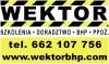 Wektor Szkolenia - Doradztwo - BHP - PPOŻ.