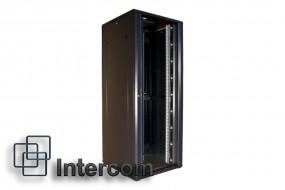 Szafa serwerowa rack stojąca 19  czarna - INTERCOM-hurtownia teletechniczna Sulejówek