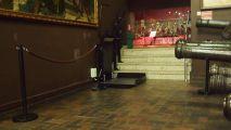 Trzy platformy schodowe w Muzeum Wojska Polskiego