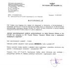 Referencja od firmy PKP Polskie Linie Kolejowe S.A.