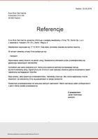 Referencja od firmy Euro-Bruk