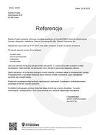 Referencja od firmy Stanley-Projekt