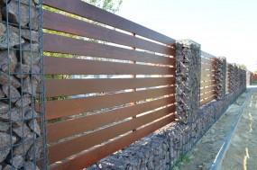 Montaż ogrodzeń drewnianych, gabionowych i stalowych - P.P.H. DRANPOL Tadeusz Polanowski Majdan Nowy