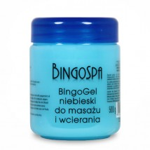 Bingo żel niebieski do masażu bóle mięśni i stawów, reumatyzm - SNELLA - zdrowe wyszczuplanie Cieszyn
