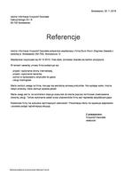 Referencja od firmy Istotne Krzysztof Gwizdała