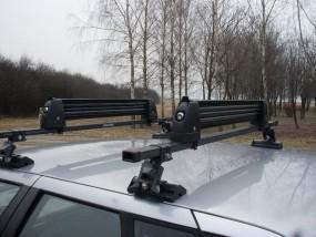 Wynajem bagażnika do trnsportu nart - GustawTravel Warszawa