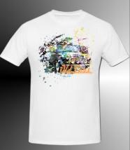 koszulka poliestrowa z nadrukiem - SUBLIQ Piastów