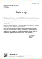 Referencja od firmy Vena Progres