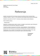 Referencja od firmy Ogródek Krasnoludków (MK Vena Progres)