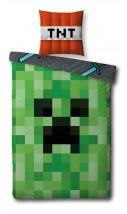 Pościel Minecraft 140x200 cm - GATITO Sp. Z O.O Sp.K. Dystrybutor artykułów i odzieży licencyjnej dla dzieci Jaworzno