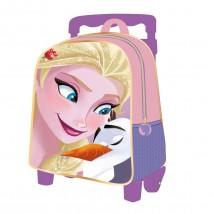Plecak 3D na kółkach Frozen - Kraina Lodu - GATITO Sp. Z O.O Sp.K. Dystrybutor artykułów i odzieży licencyjnej dla dzieci Jaworzno