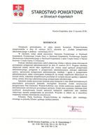 Referencja od firmy Starostwo Powiatowe Strzelce Krajeńskie