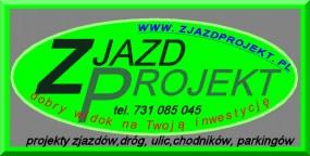 Projekt  budowlany - ZJAZDPROJEKT Biuro Projektów Drogowych Wieliczka