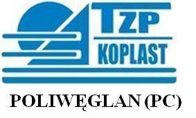 POLIWĘGLAN (PC) - Techniczne Zaopatrzenie Przemysłu  KOPLAST  Katarzyna Dółka Łódź