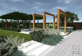 Ogrody nowoczesne - MIA studio Iwona Zielińska Żary