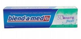 BLEND-A-MED 3D WHITE FRESH EXTREME MINT KISS WYBIELAJĄCA PASTA DO ZĘBÓ - ROEM Sp. z o.o. Elizówka
