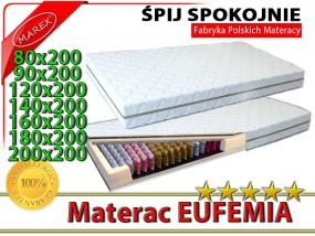 MATERAC SPRĘŻYNOWY 9 STREFOWY Eufemia Exclusive Series PRO - MAREX Wieszczycki i Spółka Sp.j. Łódź