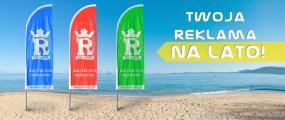 Maszt przenośny - Agencja Reklamowa REKLAMATIC Robert Łętocha Kraków
