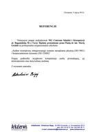 Referencja od firmy Arkaserwis
