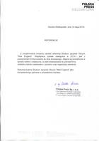 Referencja od firmy Polska Press Sp. z o.o.
