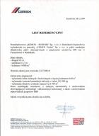 Referencja od firmy Cemex Polska