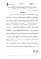 Referencja od firmy Uniwersytet Śląski