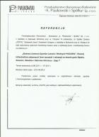 Referencja od firmy PRB Piaskowski