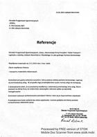 Referencja od firmy Ośrodek Przygotowań Egzaminacyjnych ,,Sowa,,