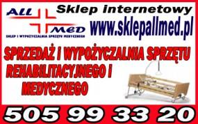 Wypożyczalnia sprzętu medycznego łóżko rehabilitacyjne - ALLMED sklep i wypożyczalnia sprzętu rehabilitacyjnego i medycznego Pabianice