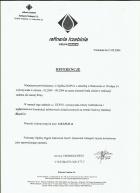 Referencja od firmy Rafineria Trzebinia