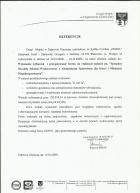 Referencja od firmy UM Dąbrowa Górnicza