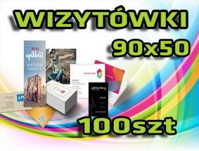 Wizytówki 100 szt + Projek - Agencja Reklamowa PRINTGROUP Gdynia