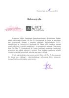 Referencja od firmy Powiatowy Zakład Zarządzania Nieruchomościami