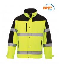 Oddychająca kurtka ostrzegawcza Softshell S 429 - REAL  BHP - Środki Ochrony Pracy i Elektroizolacja Warszawa