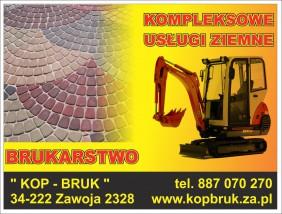 Brukarstwo - KOP-BRUK F.H.U. Zawoja Zawoja